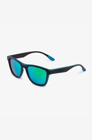 Hawkers - Okulary przeciwsłoneczne BLACK GREEN RUBBER EMERALD