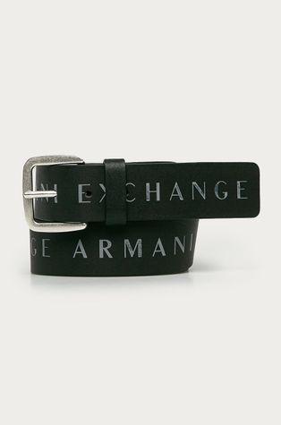 Armani Exchange - Kožený pásek