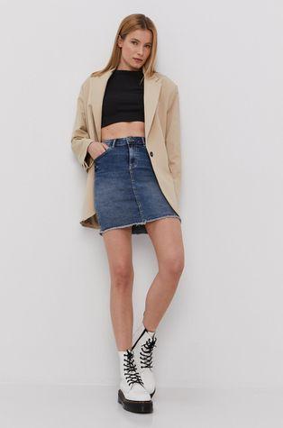 Pieces - Spódnica jeansowa
