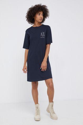 Armani Exchange - Sukienka bawełniana
