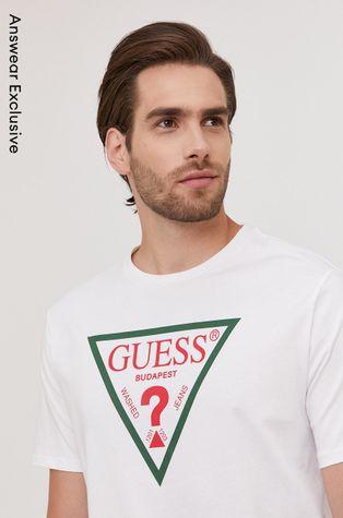 Guess - Тениска от лимитирана 10 год. Answear колекция