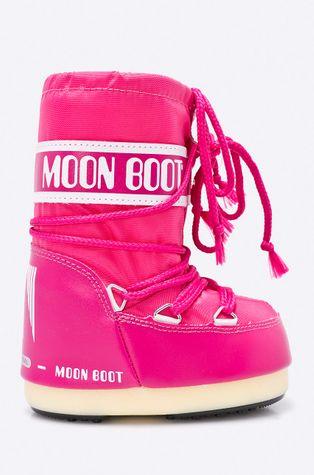 Moon Boot - Зимові чоботи dziecięce Nylon Bouganville