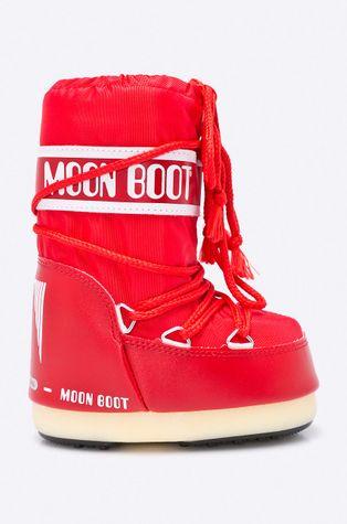 Moon Boot - Detské snehule Nylon Rosso