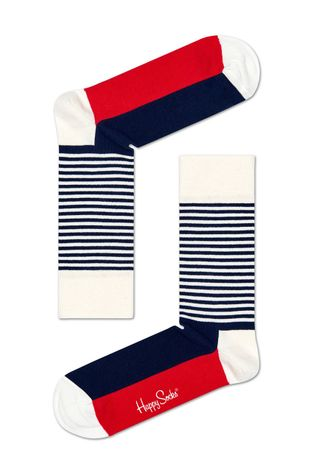 Happy Socks - Skarpetki Stripe Gift Box (4-pak)
