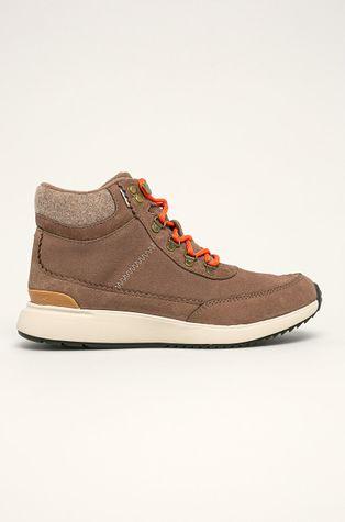 Toms - Kožené kotníkové boty
