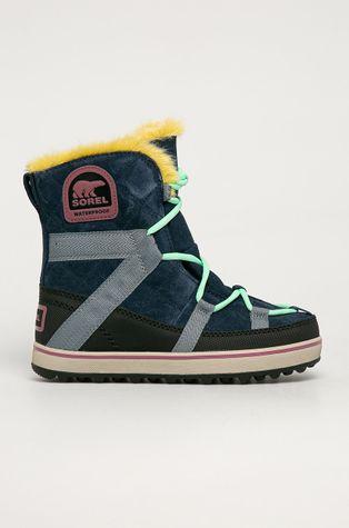 Sorel - Cizme de iarna Glacy Explorer Shortie