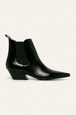 Calvin Klein - Kožené topánky Chelsea