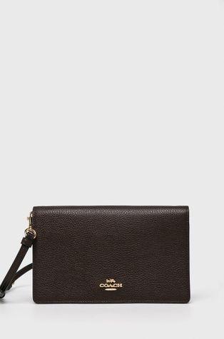 Coach - Kožená listová kabelka