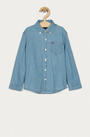 Tommy Hilfiger - Дитяча бавовняна сорочка 128-176 cm