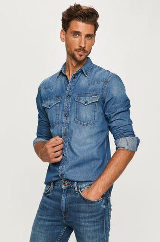 Pepe Jeans - Джинсова сорочка Noah