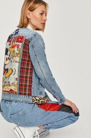 Desigual - Kurtka jeansowa x Disney