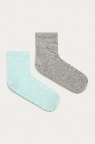 Calvin Klein - Členkové ponožky (2-pak)