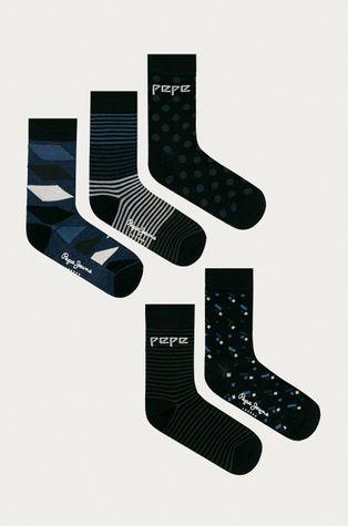 Pepe Jeans - Ponožky Elon (5-pak)