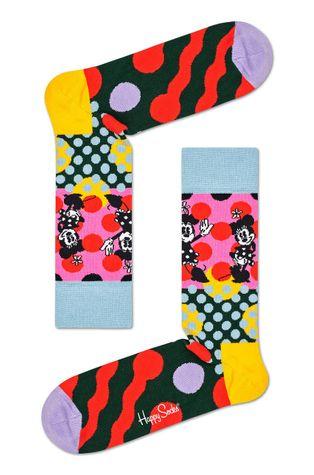 Happy Socks - Ponožky DISNEY Minnie-Time