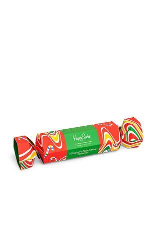 Happy Socks - Ponožky Psychedelic Candy Cane (2-pak)