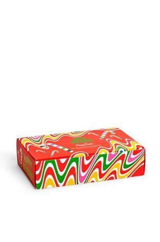Happy Socks - Ponožky Psychedelic Candy Cane (4-pack)