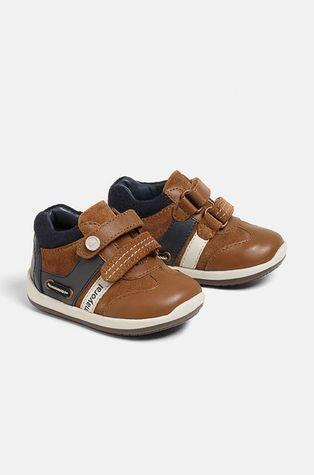 Mayoral - Dětské kožené boty