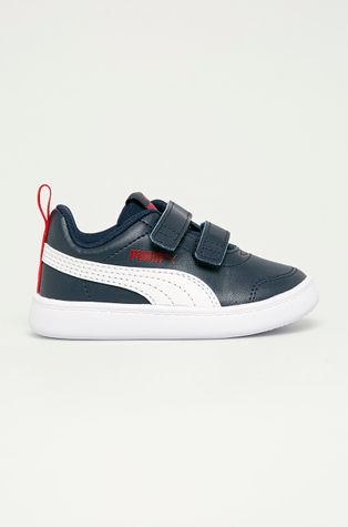 Puma - Detské topánky Courtflex v2 V Inf