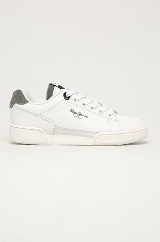 Pepe Jeans - Dětské kožené boty Lambert Basic