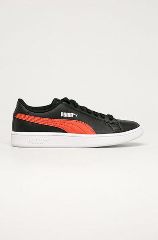 Puma - Kožené boty Puma Smash v2 L Jr