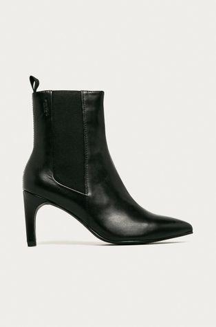 Vagabond - Kožené kotníkové boty Whitney
