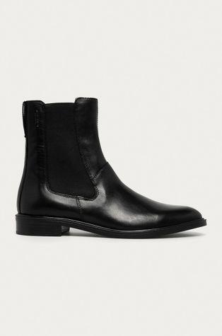 Vagabond - Kožené kotníkové boty Frances