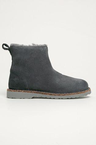 Birkenstock - Semišové boty Melrose Shearling