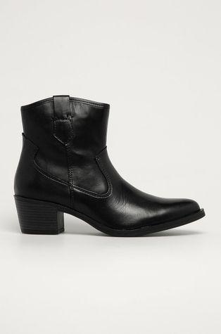 Marco Tozzi - Δερμάτινες καουμπόικες μπότες