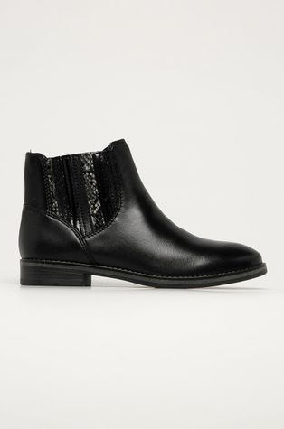 Marco Tozzi - Δερμάτινες μπότες Τσέλσι