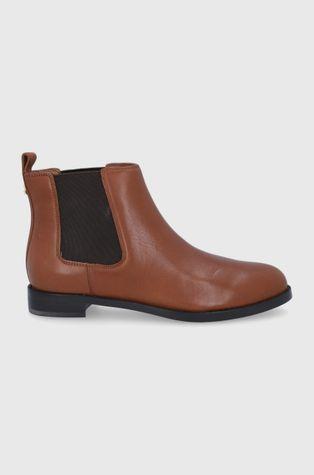 Lauren Ralph Lauren - Kožené topánky Chelsea