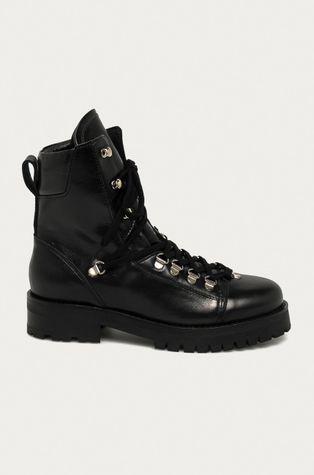 AllSaints - Kožené kotníkové boty Franka