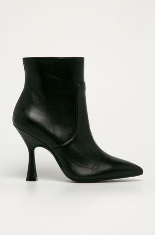 Stuart Weitzman - Kožené členkové topánky Melena
