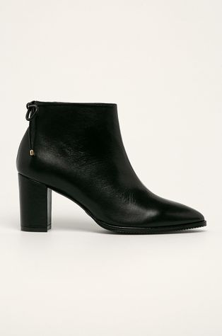 Stuart Weitzman - Kožené kotníkové boty Gardiner