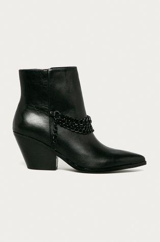 Guess Jeans - Westernové kožené boty