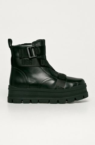 UGG - Kožené členkové topánky Sid