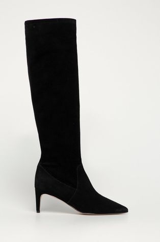 Red Valentino - Semišové boty