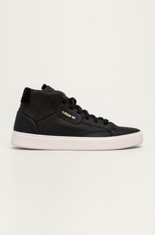 adidas Originals - Buty skórzane Sleek Mid