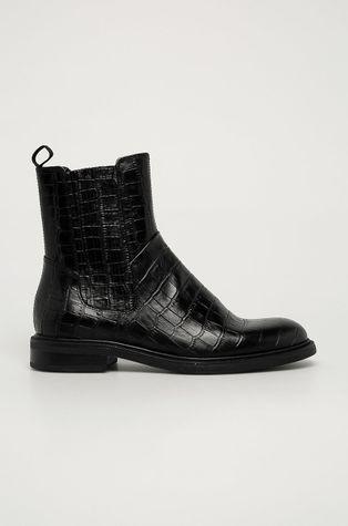 Vagabond - Kožené kotníkové boty Amina