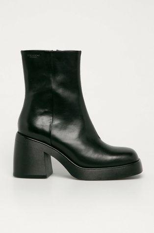 Vagabond - Kožené členkové topánky Brooke