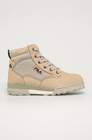 Fila - Kožené kotníkové boty