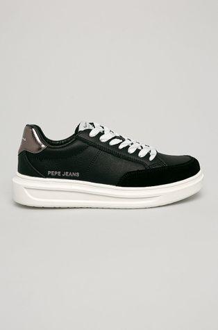 Pepe Jeans - Kožené boty Abbey Top