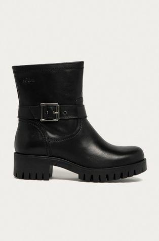 s. Oliver - Kožené kotníkové boty