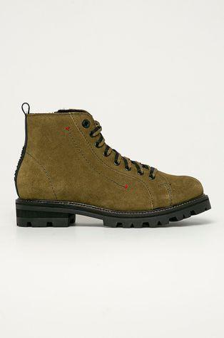 s. Oliver - Semišové boty
