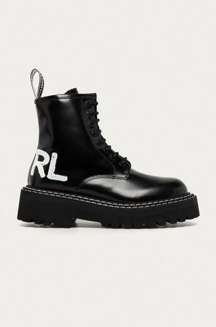 Karl Lagerfeld - Workery skórzane