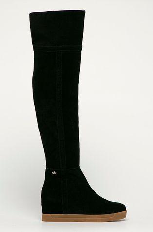 Calvin Klein - Semišové boty