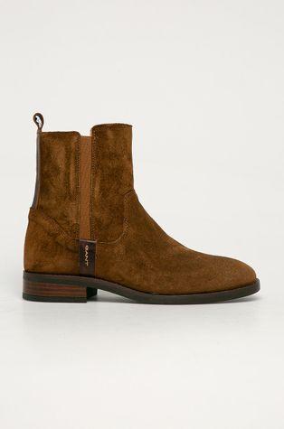 Gant - Semišové boty Fayy