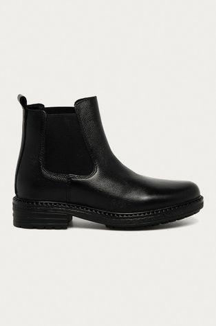 Aldo - Kožené kotníkové boty Aubrey