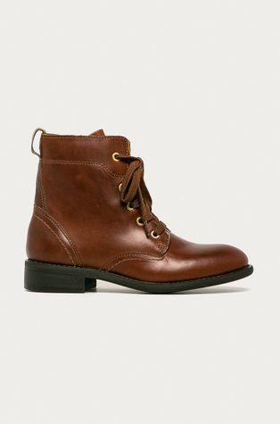 Gant - Kožené členkové topánky Ainsley