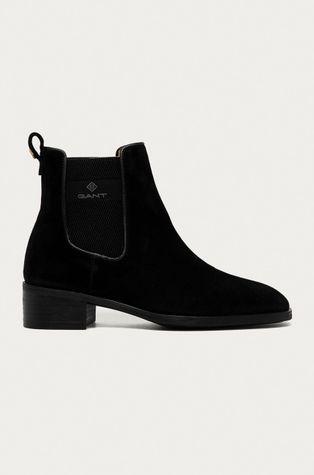 Gant - Semišové kotníkové boty Dellar