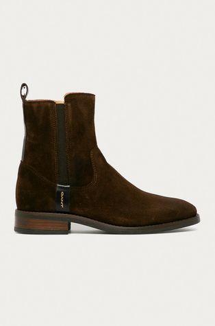 Gant - Semišové kotníkové boty Fayy